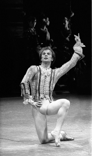 Rudolf Nureyev at La Scala in Don Quixote