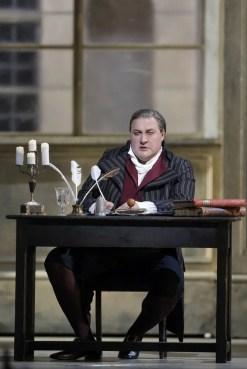 George Gagnidze as Gerard in Andrea Chénier at San Francisco Opera, 2016, photo by Cory Weaver