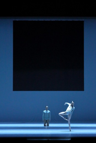 Portrait Wayne McGregor, Borderlands with Alexey Popov Ksenia Ryzhkova © Wilfried Hoesl