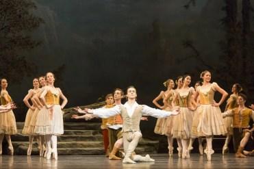 Francesco Gabriele Frola With Artists Of The Ballet In Giselle. Photo By Aleksandar Antonijevic, 2016