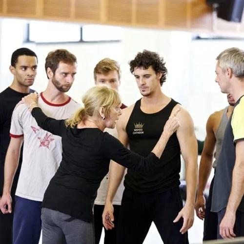 Gillian Lynne reconstructing Robert Helpmann's Miracle in the Gorbals for Burmingham Royal Ballet in 2014