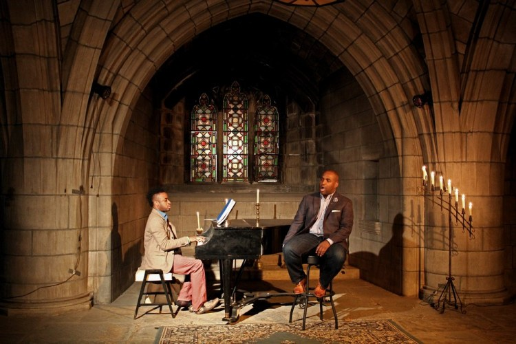Lawrence Brownlee and Damien Sneed - Crypt Session - credit © Andrew Ousley