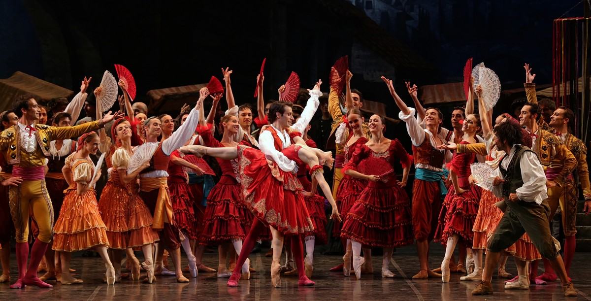Don Quixote with Martina Arduino and Marco Agostino, photo by Brescia e Amisano, Teatro alla Scala