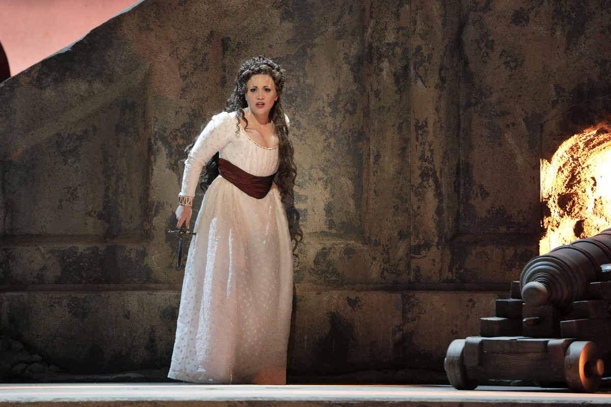 Carmen Giannattasio In The Title Role Of Tosca At San Francisco Opera, Photo By Cory Weaver (1)