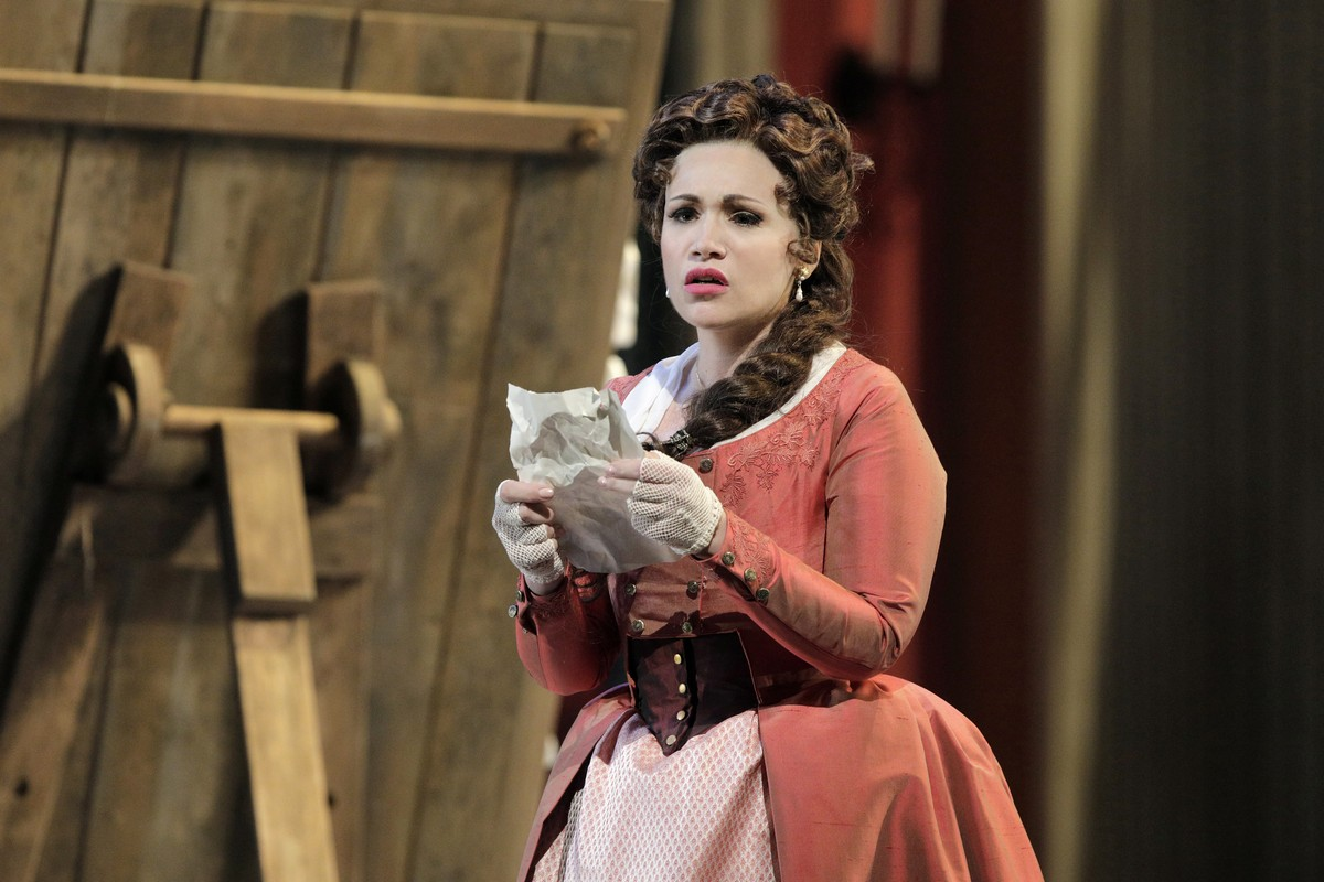 Carmen Giannattasio In The Title Role Of Tosca At San Francisco Opera, Photo By Cory Weaver