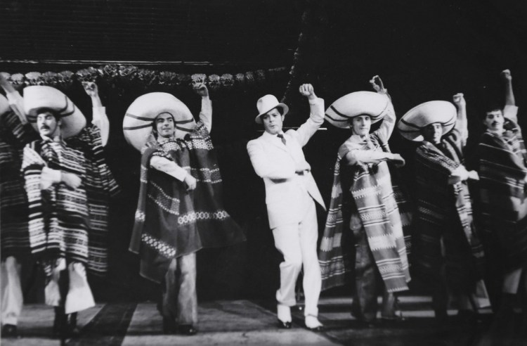 Ciao, Rudy, musical comedy by Garinei and Giovannini, with Mastroianni, 1966