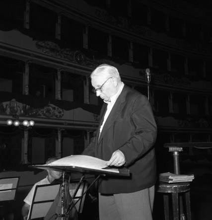 Tullio Serafin at La Scala