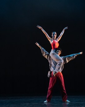 11 In the Upper Room by Twyla Tharp, Jade Heusen and Yasuo Atsuji © Dasa Wharton, Birmingham Royal Ballet 2018