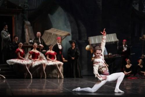 Don Quixote Leonid Sarafanov, photo by Marco Brescia, Teatro alla Scala