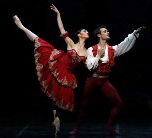 Don Quixote Martina Arduino and Marco Agostino, photo by Brescia e Amisano, Teatro alla Scala