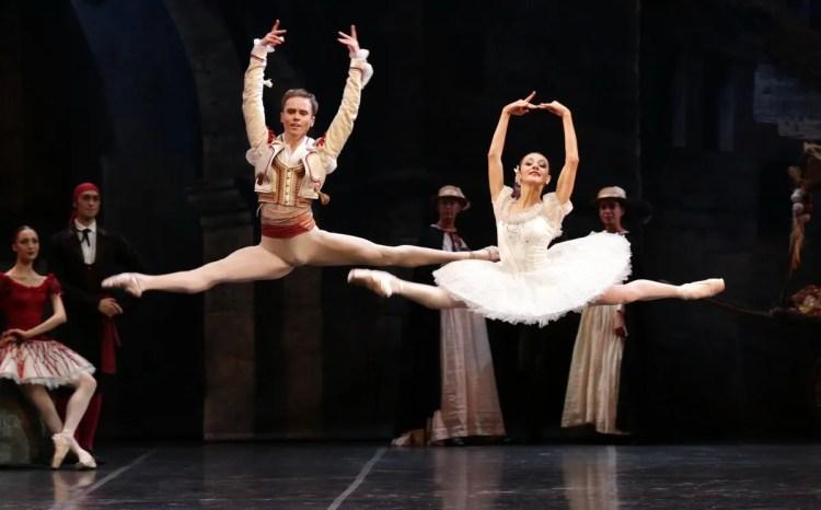 Don Quixote Nicoletta Manni and Leonid Sarafanov, photo by Brescia e Amisano, Teatro alla Scala 01