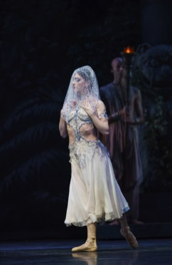 La Bayadère. Marianela Nuñez as Nikiya. ©ROH, 2018. Photographed by Bill Cooper.
