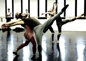 Angelin Preljocaj's Winterreise, rehearsal photo by Brescia and Amisano, Teatro alla Scala 2018 03
