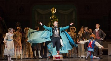 The Nutcracker. Gary Avis as Drosslemeyer. ©ROH, Bill Cooper, 2013