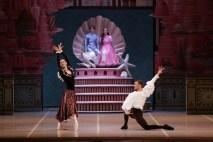 George Balanchine's The Nutcracker®, Francesca Podini and Massimo Garon as Hot Chocolate, photo by Brescia e Amisano, Teatro alla Scala 2018