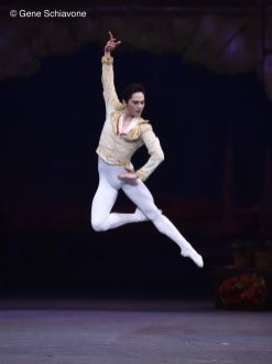 Jeffrey Cirio as Basilio with the American Ballet Theatre, photo by Gene Schiavone