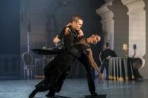Matthew Bourne's SWAN LAKE. Will Bozier 'The Stranger' and Shoko Ito 'Romanian Princess'. Photo by Johan Persson