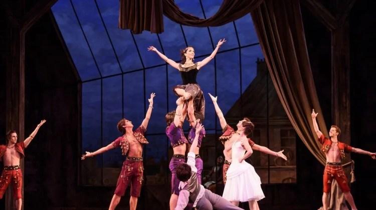 THE TWO PIGEONS The Royal Ballet, The Young Girl; Lauren Cuthbertson,The Young Man; Vadim Muntagirov, Gypsy Girl; Laura Morera, Her Lover; Ryoichi Hirano, The Lady Bountiful; Elizabeth McGorian, Gypsy Boy; Marcelino Sambe,