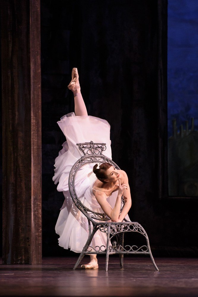THE TWO PIGEONS The Royal Ballet, The Young Girl; Lauren Cuthbertson,The Young Man; Vadim Muntagirov, Gypsy Girl; Laura Morera, Her Lover; Ryoichi Hirano, The Lady Bountiful; Elizabeth McGorian, Gypsy Boy; Marcelino Sambe,