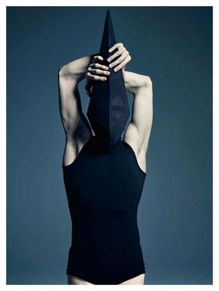 Wayne McGregor's Infra. One of the greatest of joys in this work is the coming together of these creative giants for this folio. The costumes were designed by Gareth Pugh