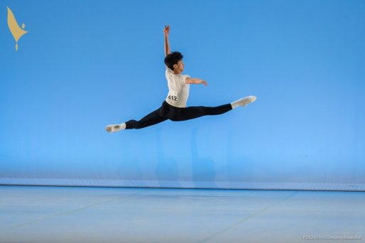 412 WU Shuailun, Prix de Lausanne 2019, photo by Gregory Batardon 6241