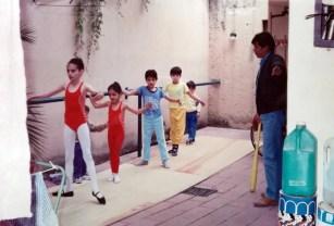 Class in the yard