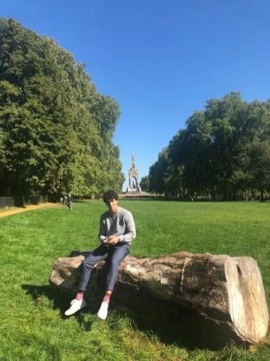 In Kensington Gardens, London