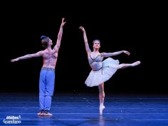 Marianela Nuñez and Vadim Muntagirov, Le Corsaire, photo by Graham Spicer