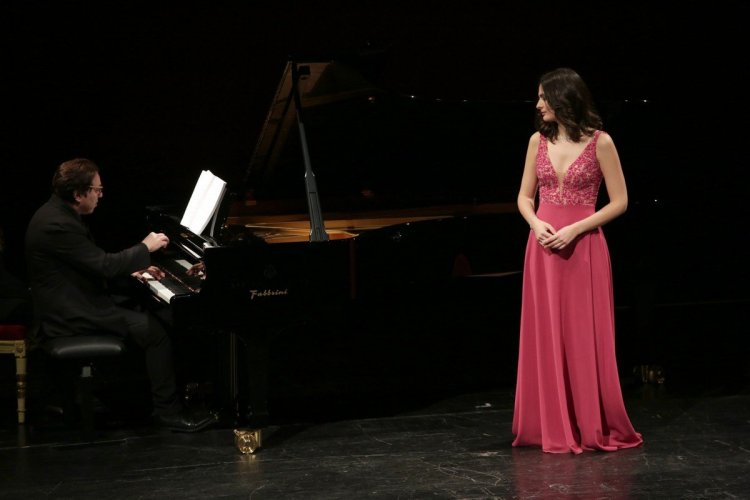 Marianne Crebassa and Fazil Say at La Scala, photo by Brescia e Amisano, Teatro alla Scala 2019 2