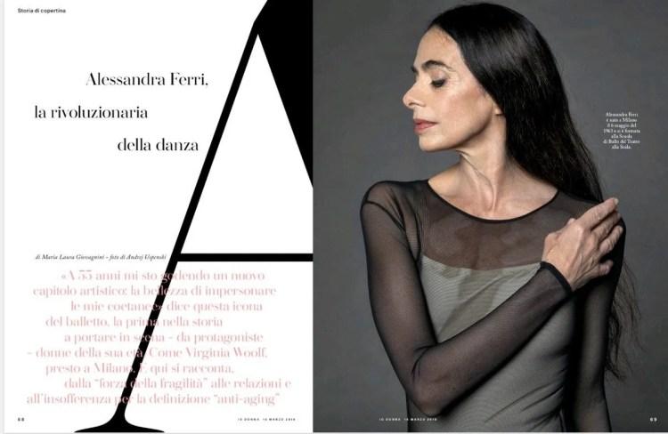 Alessandra Ferri Io Donna