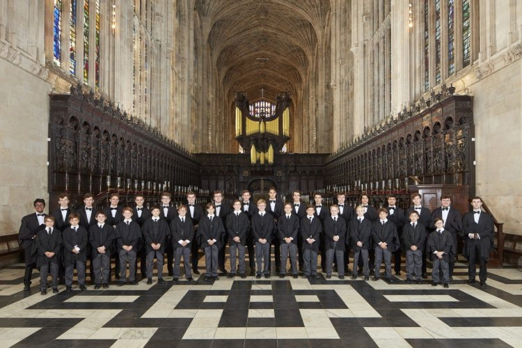 Choir of King's College, Cambridge 01