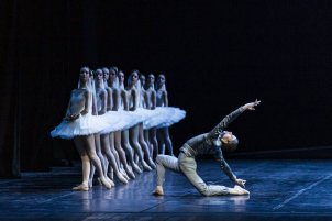 Daniele Bonelli in La Bayadère © Virginia Giurovich, Teatro alla Scala 2019