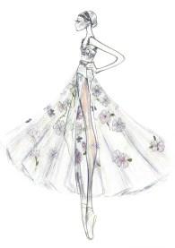 Nuit Blanche, designs by Maria Grazia Chiuri, Dior, for Rome Opera Ballet 2019 1