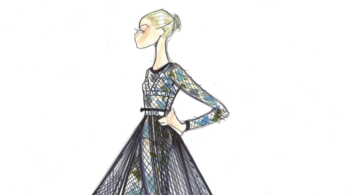 Nuit Blanche, designs by Maria Grazia Chiuri, Dior, for Rome Opera Ballet 2019 crop