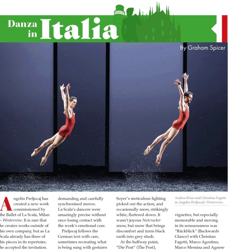 Dancing Times May 2019 Danza in Italia 2