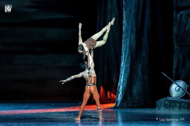 Spartacus with the Bayerisches Staatsballett © Luca Vantusso 2019 5