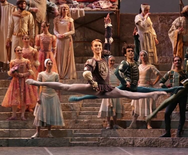 Timofej Andrijashenko in Romeo and Juliet, photo by Brescia e Amisano, Teatro alla Scala 2016 (1