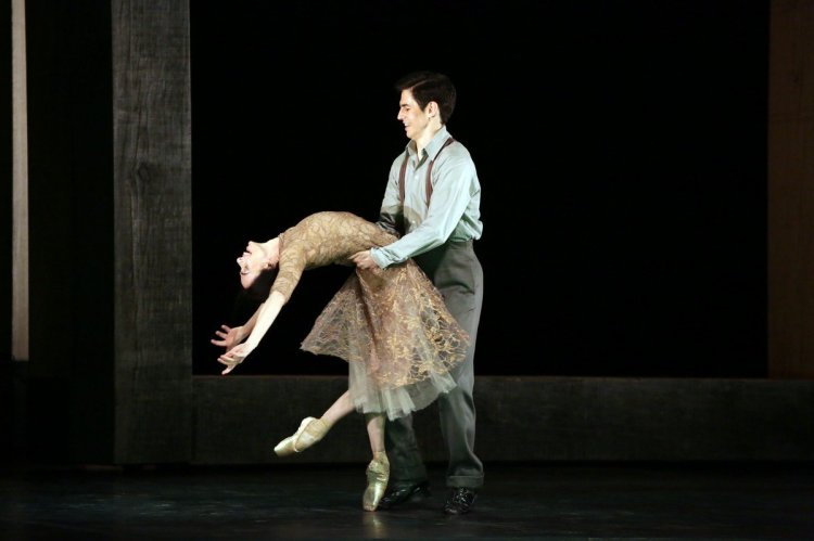 Woolf Works, I now I then, with Alessandra Ferri and Federico Bonelli, photo by Brescia e Amisano, Teatro alla Scala 2019 01