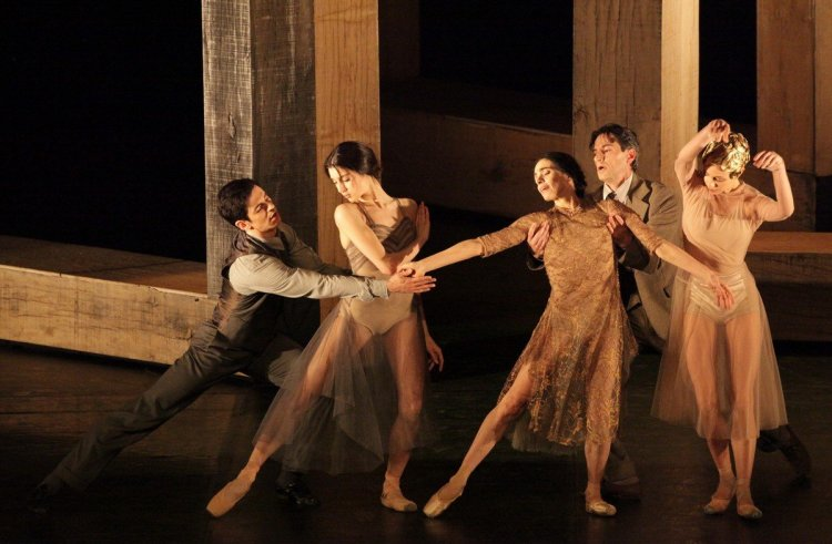 Woolf Works, I now I then, with Federico Bonelli, Caterina Bianchi, Alessandra Ferri, Mick Zeni and Agnese Di Clemente, photo by Brescia e Amisano, Teatro alla Scala 2019