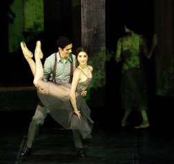Woolf Works, I now I then, with Federico Bonelli and Caterina Bianchi, photo by Brescia e Amisano, Teatro alla Scala 2019