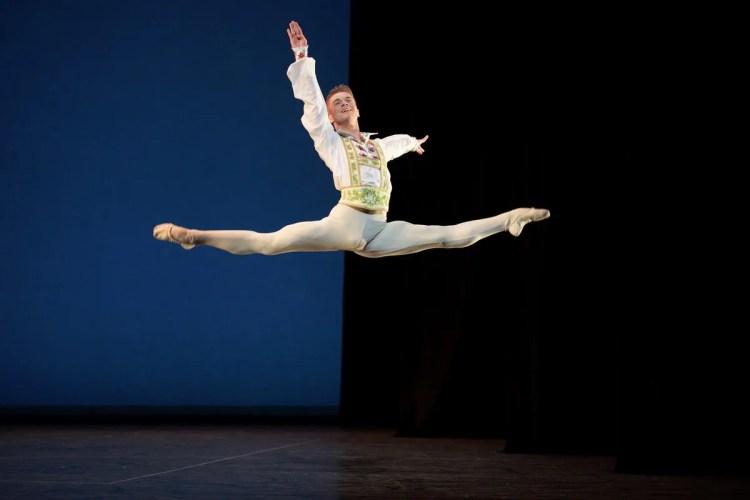Rhys Antoni Yeomans performing Coppélia © Laurent Liotardo
