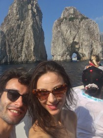 Marco Agostino and Martina Arduino in Capri