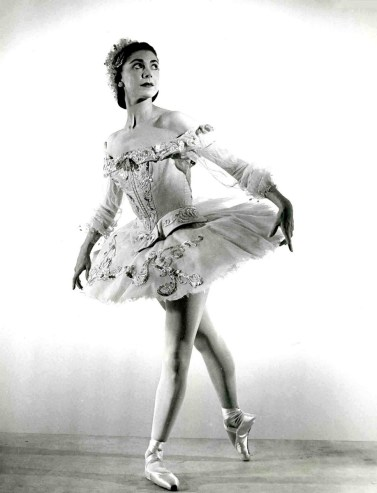 Margot Fonteyn as Princess Aurora in the Sadler's Wells Ballet p