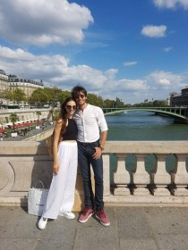 Martina Arduino and Marco Agostino in Paris