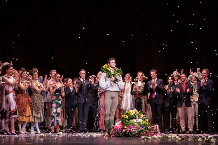Roberto Bolle FInal ABT Performance, Manon, June 20, 2019 @ Kent G. Becker