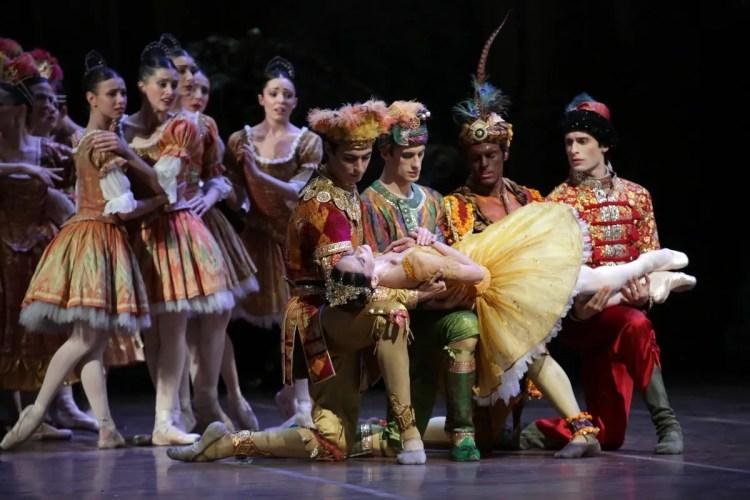 17 The Sleeping Beauty, with Polina Semionova, Edoardo Caporaletti, Nicola Del Freo, Gioacchino Starace and Marco Agostino
