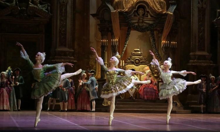 32 The Sleeping Beauty, with Alessandra Vassallo, Caterina Bianchi and Gaia Andreanò