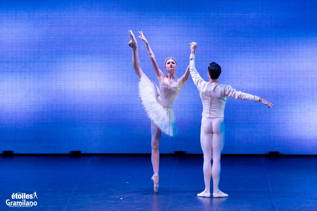 Diamonds (from Balanchine's Jewels) with Alena Kovaleva and Jacopo Tissi © Graham Spicer, Daniele Cipriani Entertainment 1