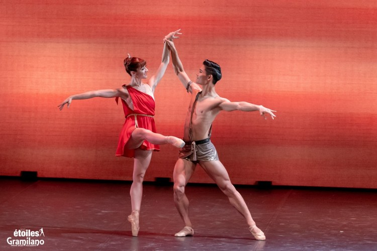 Diana and Actaeon with Rebecca Storani and Young Gyu Choi © Graham Spicer, Daniele Cipriani Entertainment 3