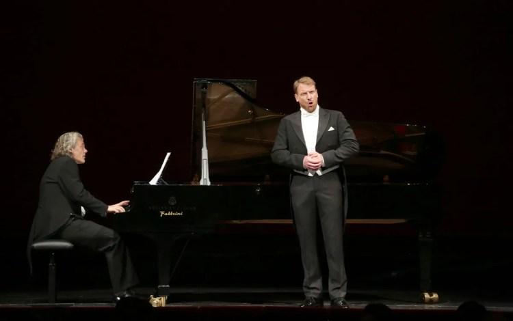 Günther Groissböck with Gerold Huber © Brescia e Amisano, Teatro alla Scala 2019